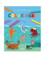"""coloriages """"Au bord de la mer"""""""