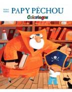 Papy pêchou - Coloriages