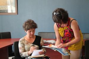 Lydie, assistante-maternelle et Sandrine, animatrice du RAPAM
